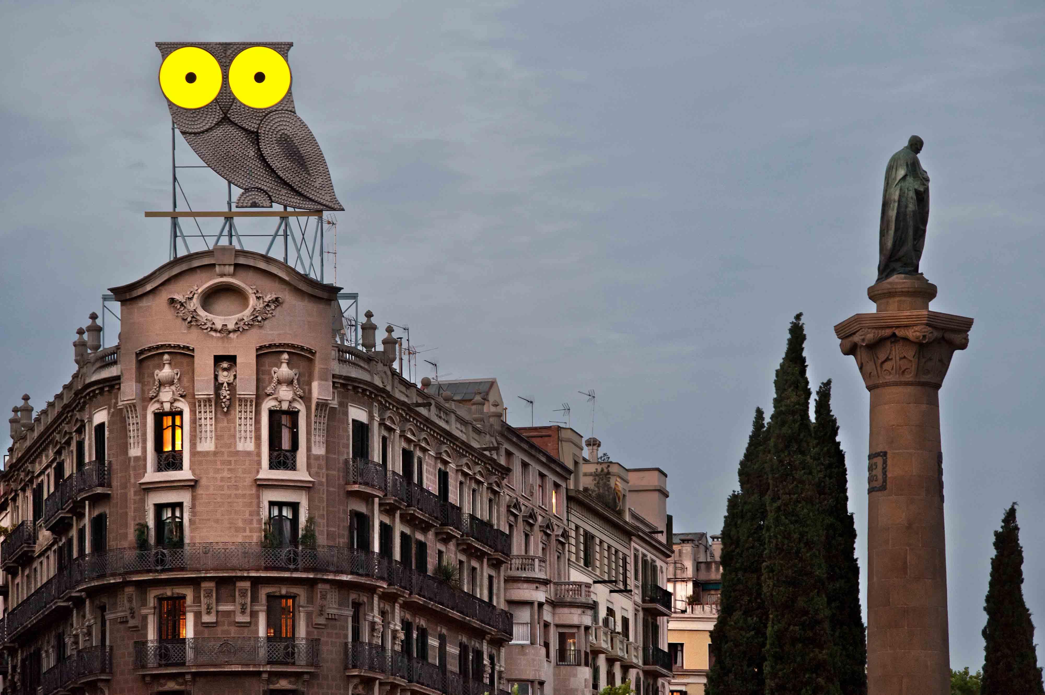 rotulo-luminoso-neon-buho-barcelona-cerca-vsa-comunicacion