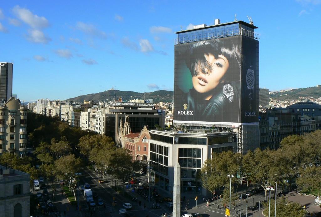 publicidad-exterior-Rolex-lonas-publicitarias-vsa-comunicacion