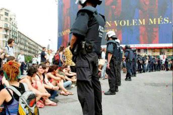 Moviment 15-M Plaza Catalunya 2011