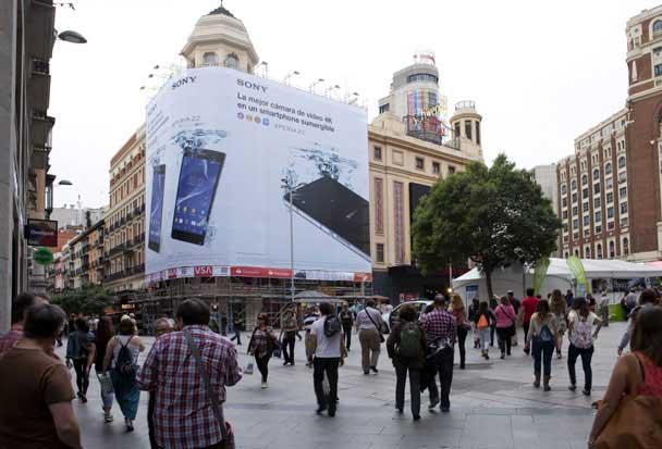 Plaza Callao - Sony