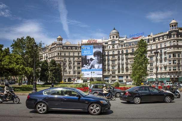 Plaza Francesc Macia - Abat Oliba