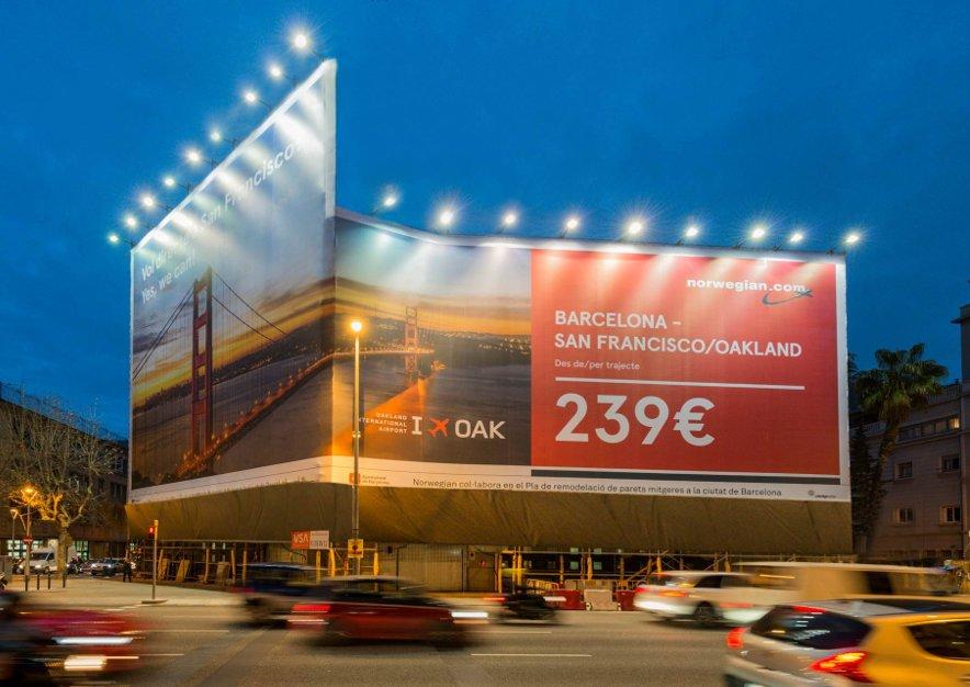 lona-publicitaria-barcelona-aragon-300-norwegian-vsa-comunicacion