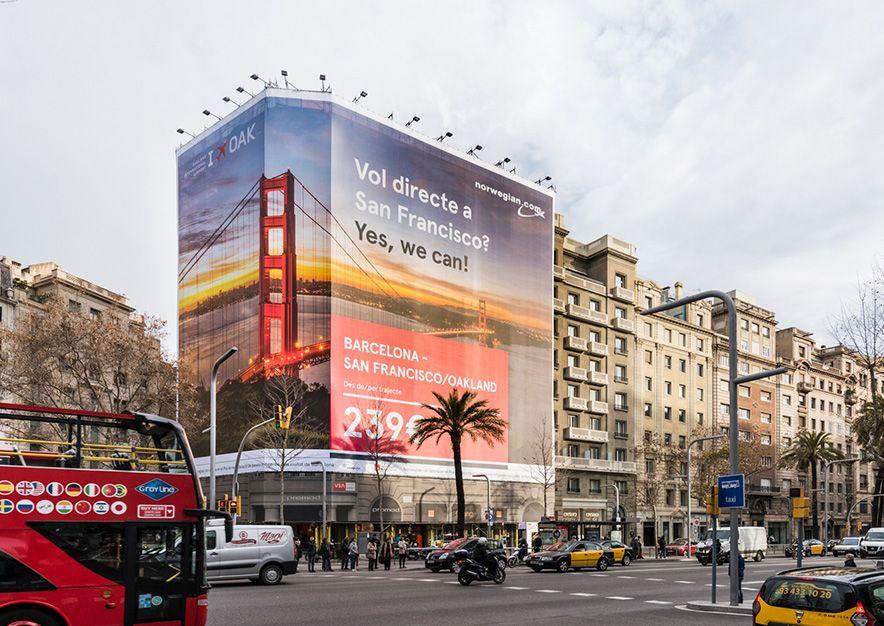 lona-publicitaria-barcelona-avenida-diagonal-598-norwegian-vsa-comunicacion