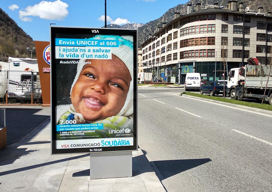 mobiliario-urbano-oppi-publicidad-exterior-unicef-rsc-andorra-la-vella-vsa-comunicacion
