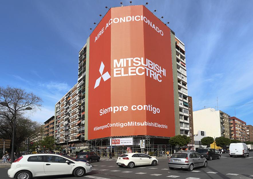 lona-publicitaria-valencia-avenida-del-puerto- 87-mitsubishi-dia-vsa-comunicacion