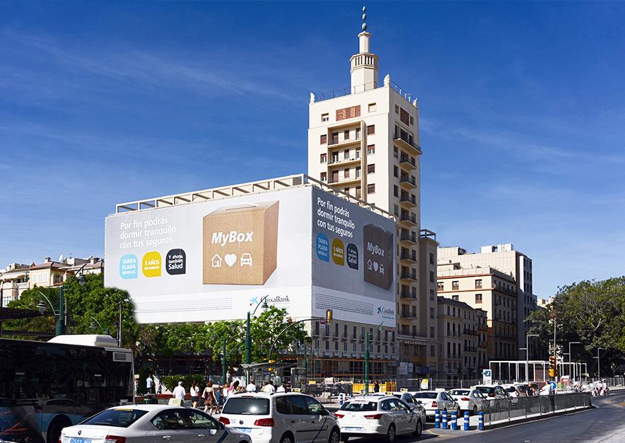lona-publicitaria-malaga-plaza-de-la-marina-10-equitativa-caixa-dia-vsa-comunicacion