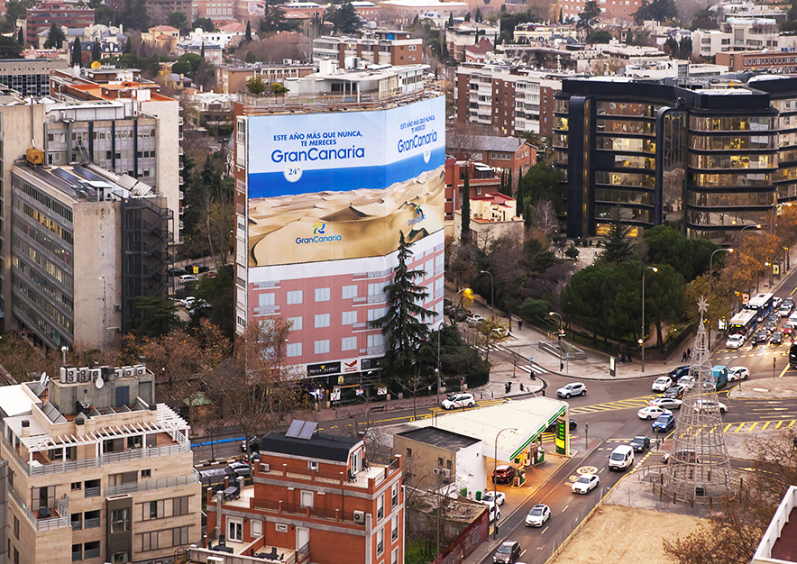 lona-publicitaria-madrid-pincipe-de-vergara-103-turismo-gran-canaria-aerea-diciembre-dia-vsa-comunicacion