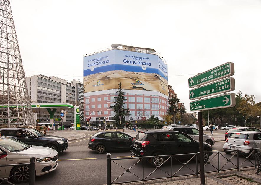 lona-publicitaria-madrid-pincipe-de-vergara-103-turismo-gran-canaria-diciembre-dia-vsa-comunicacion